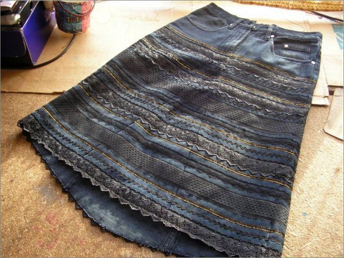Что можно сделать из джинс