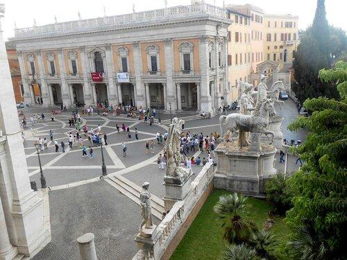 площадь Капитолия, Рим