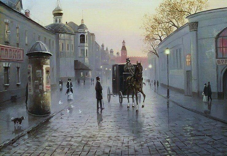 Андрей Репников. Вечерняя Москва