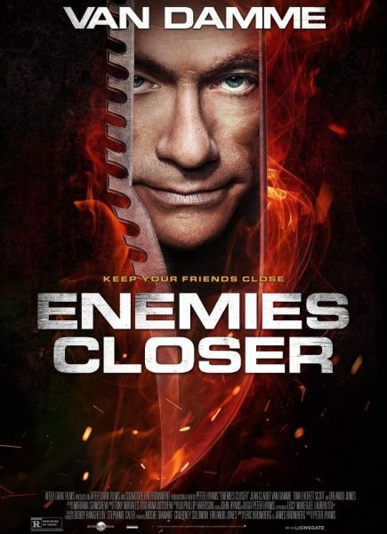 Близкие враги / Enemies Closer (2013) BDRip 1080p / 720p + HDRip
