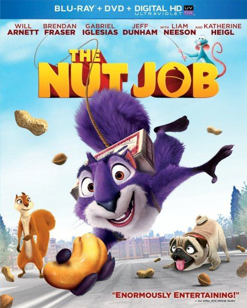 Реальная белка / The Nut Job (2014) BD-Remux + BDRip 1080p [2D,3D] + 720p + HDRip