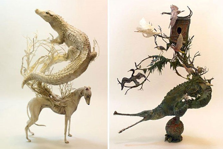 Эллен Джеветт делает удивительные скульптуры из глины