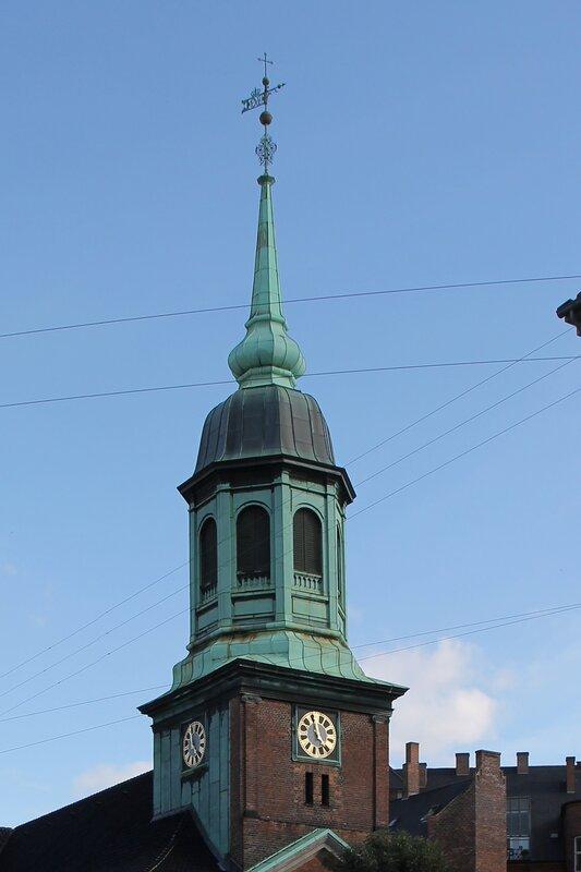 Копенгаген. Гарнизонная церковь (Garnisonskirken)