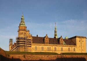 Замок Кронборг. Эльсинор, Гамлет. Kronborg Slot. Kronborg castle.