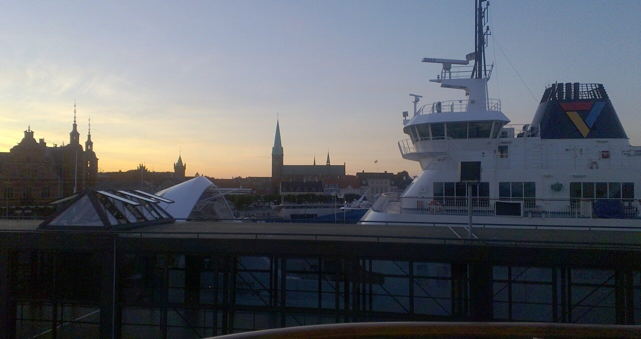 Øresund, ferry.  Эресунд паром