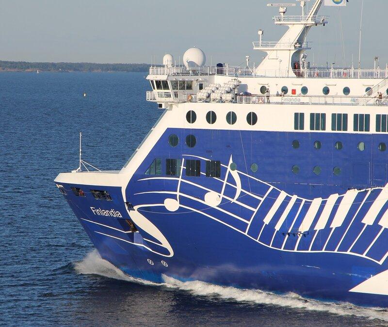 Паром Финляндия. Finlandia Ferry