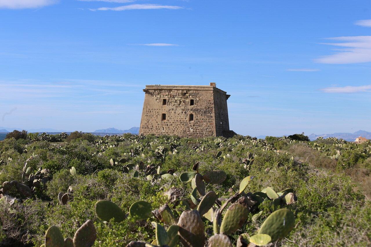 Табарка. Башня Сан-Хосе (Torre de San José)