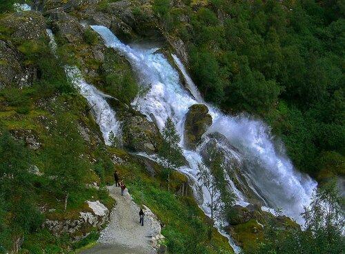 Водопады Норвегии