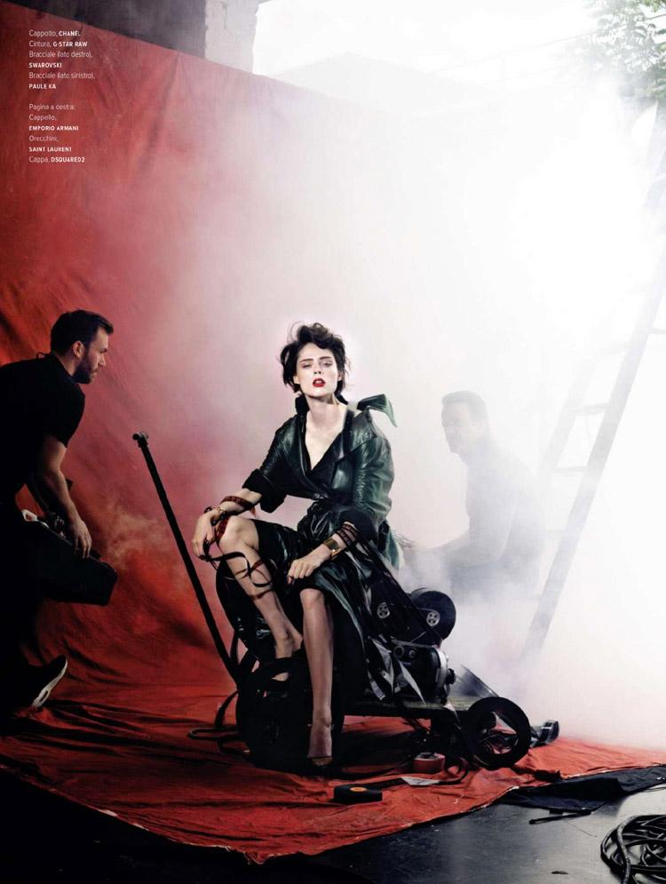 Коко Роша (Coco Rocha) в журнале L'Officiel Italia