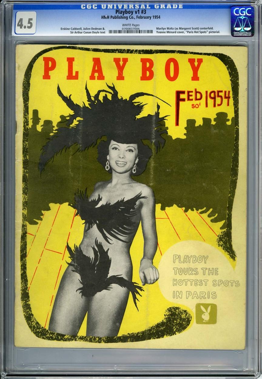 7. Январь 1954 года — первое датируемое издание и появление кролика на обложке Марджи Харрисон