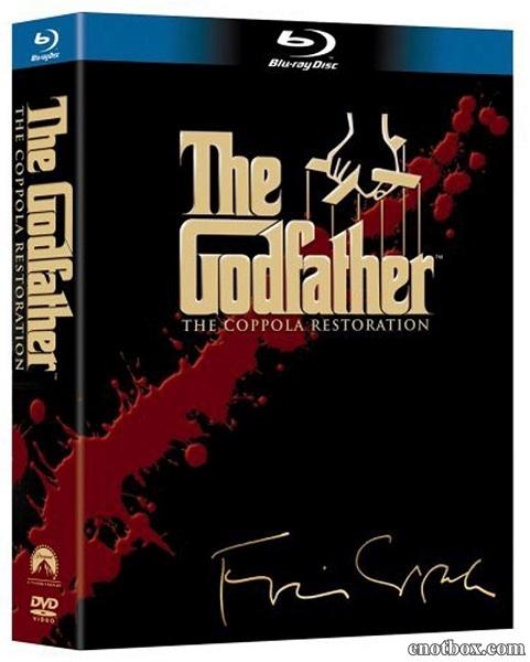 Крестный отец: Трилогия / The Godfather Collection: The Coppola Restoration / 1972-1990 / ПМ, ПД, АП (Живов, Михалёв), СТ / BDRip (720p)