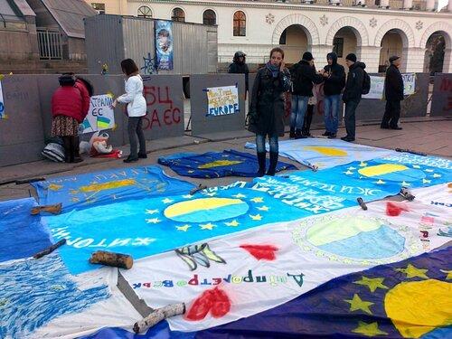 Творчество на тему евроинтеграции Украины