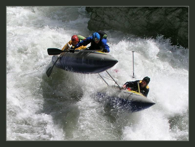 Сплав по реке Лаба