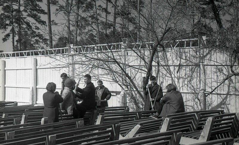 Субботник в парке