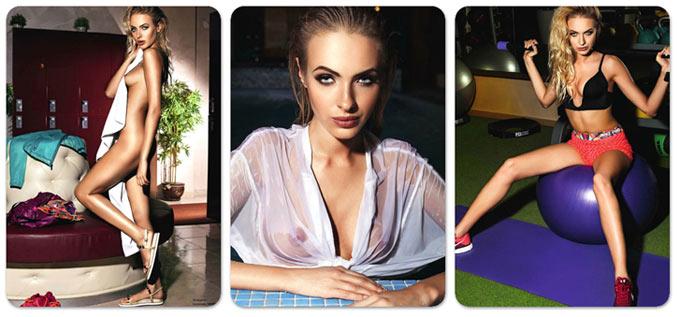 Девушка месяца Екатерина Рудая - Playboy Россия, июнь 2014