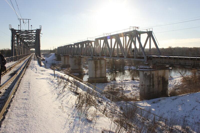Мост БМО через Клязьму