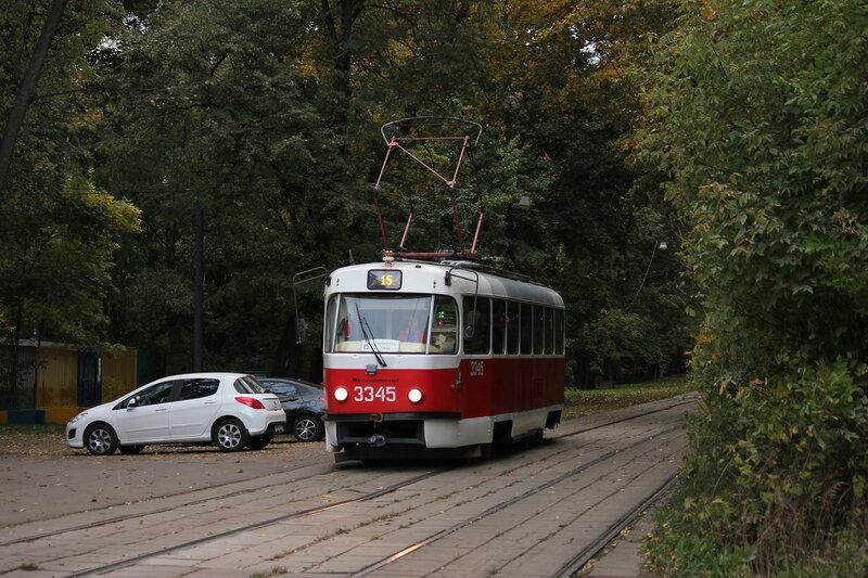 Трамвай 3345