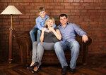 Семейные фотосессии СТУДИЯ
