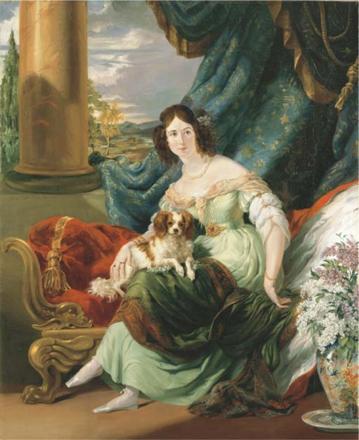 Portrait of Charlotte, Countess de la Bourdonnaye (1795-1875)