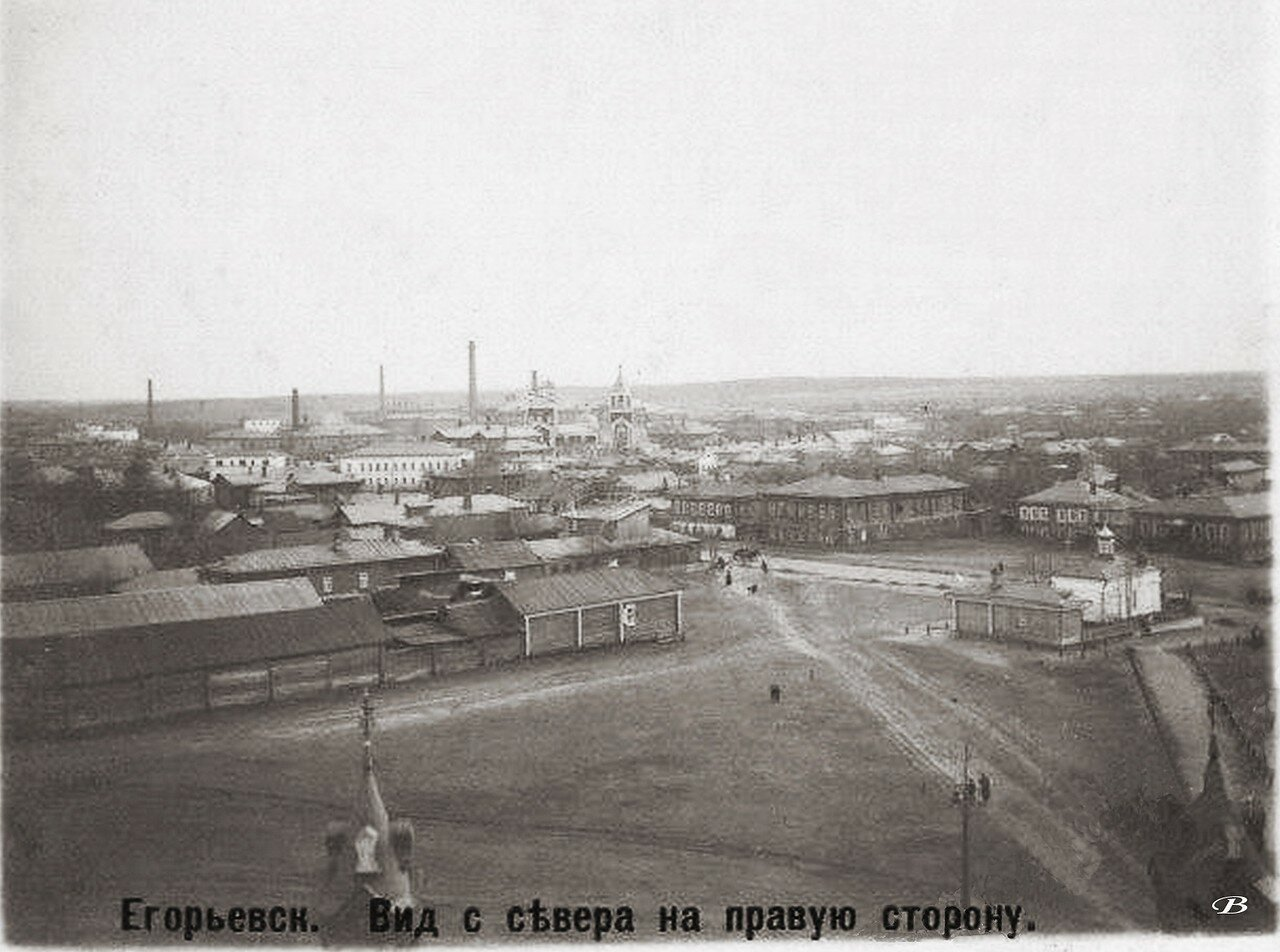 Вид с севера на правую сторону