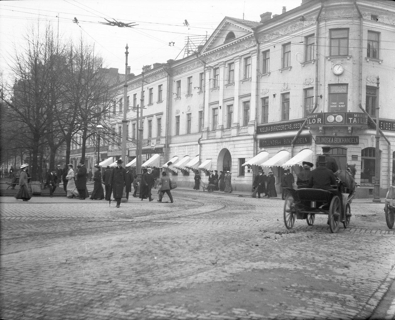 Пересечение Северной эспланады и Сенатской площади, около 1906