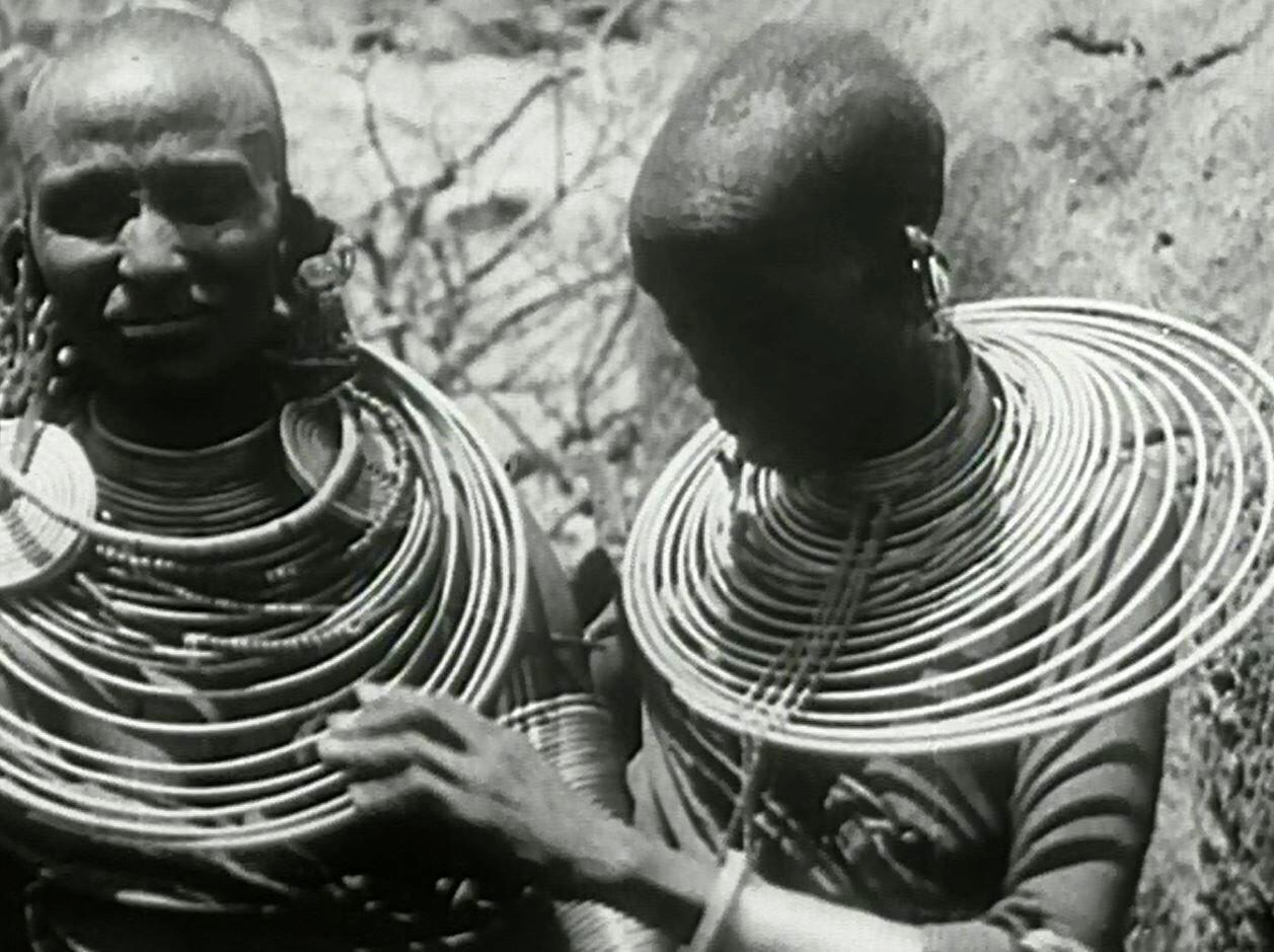 1930. Женщины масаи
