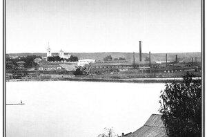 Вид на Добрянский завод 1913