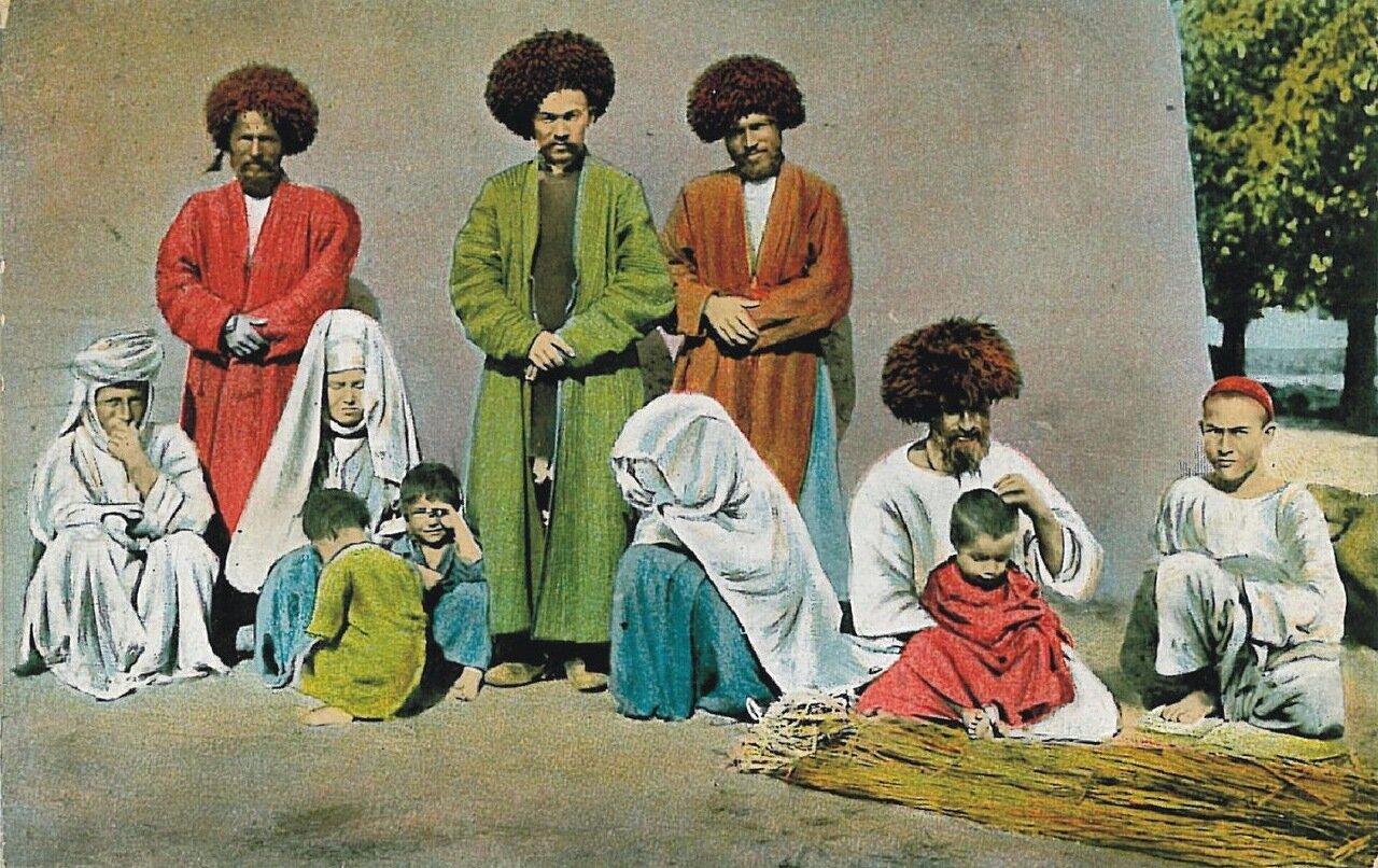 Типы Средне-Азиатских владений.Туркмены
