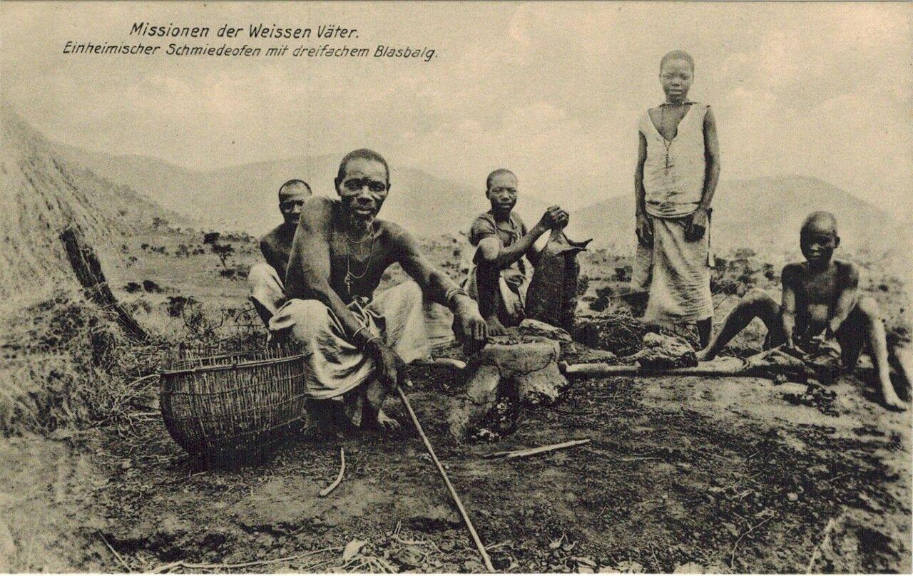1910. Кузнец. Танзания