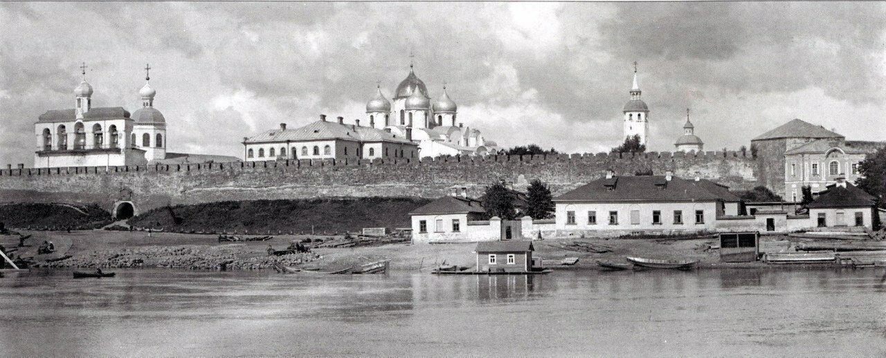 Вид на Кремль. 1914