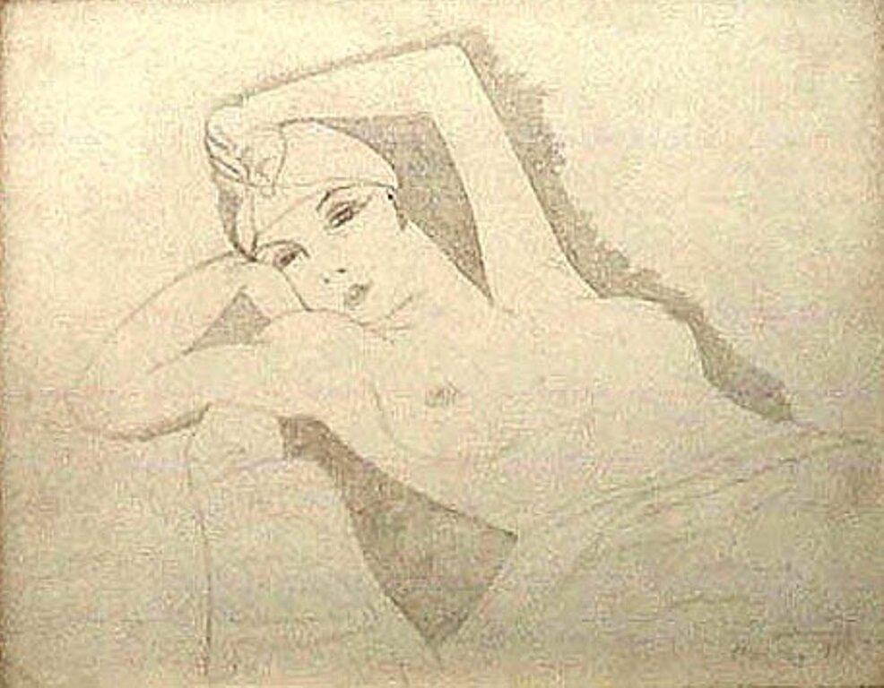 1924. Ман Рэй. Кики