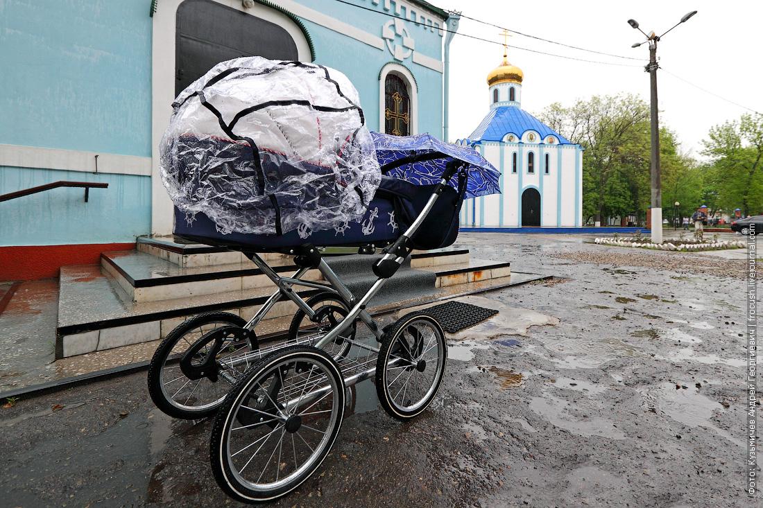 Часть парка культуры и отдыха им.Горького в Ейске занята культовыми сооружениями