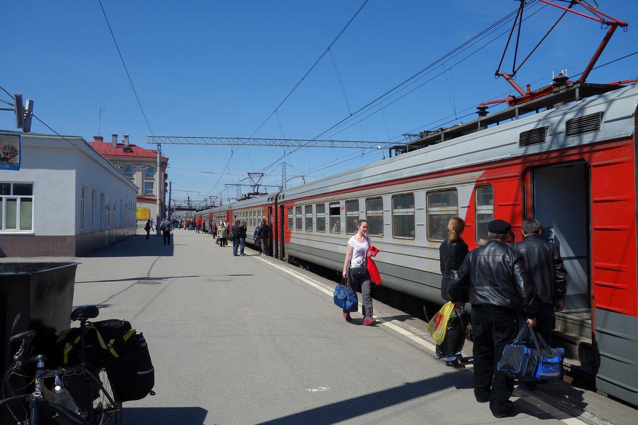 ЭР2К на станции Рязань-1