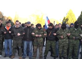 Силы самообороны Крыма взяли аэродром Бельбек под контроль