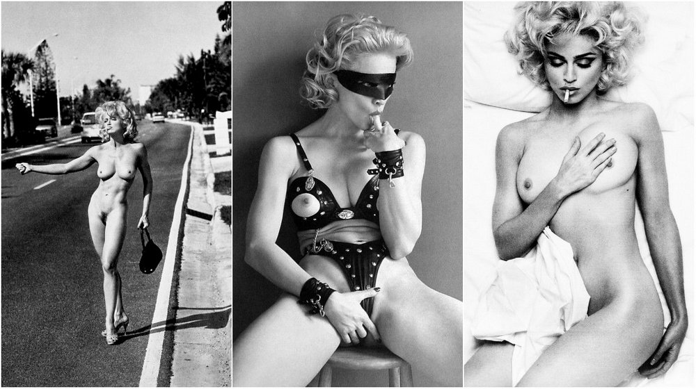 Мадонна в фотокниге «Sex»