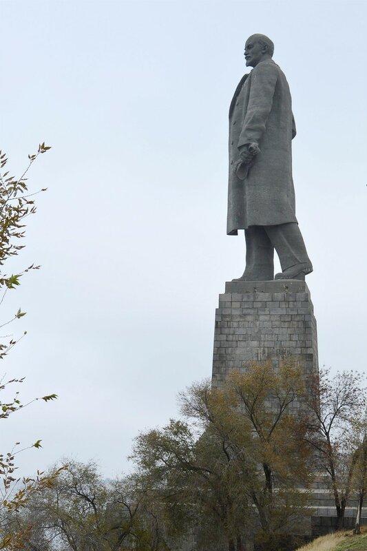 Самый большой в мире памятник В. И. Ленину