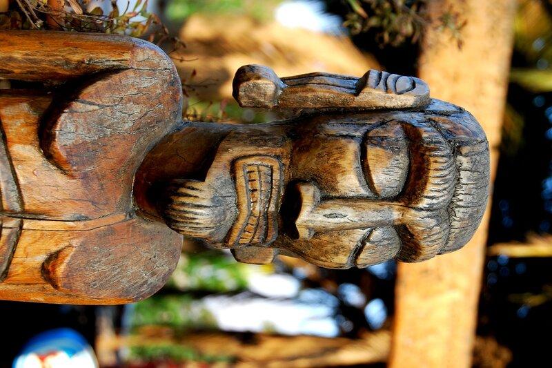 В Деревне ремесленников Los Dominicos