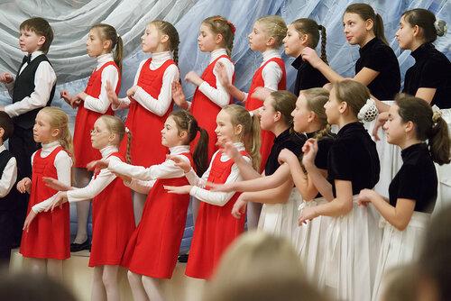 Рождественский детский хоровой фестиваль в храме Живоначальной Троицы