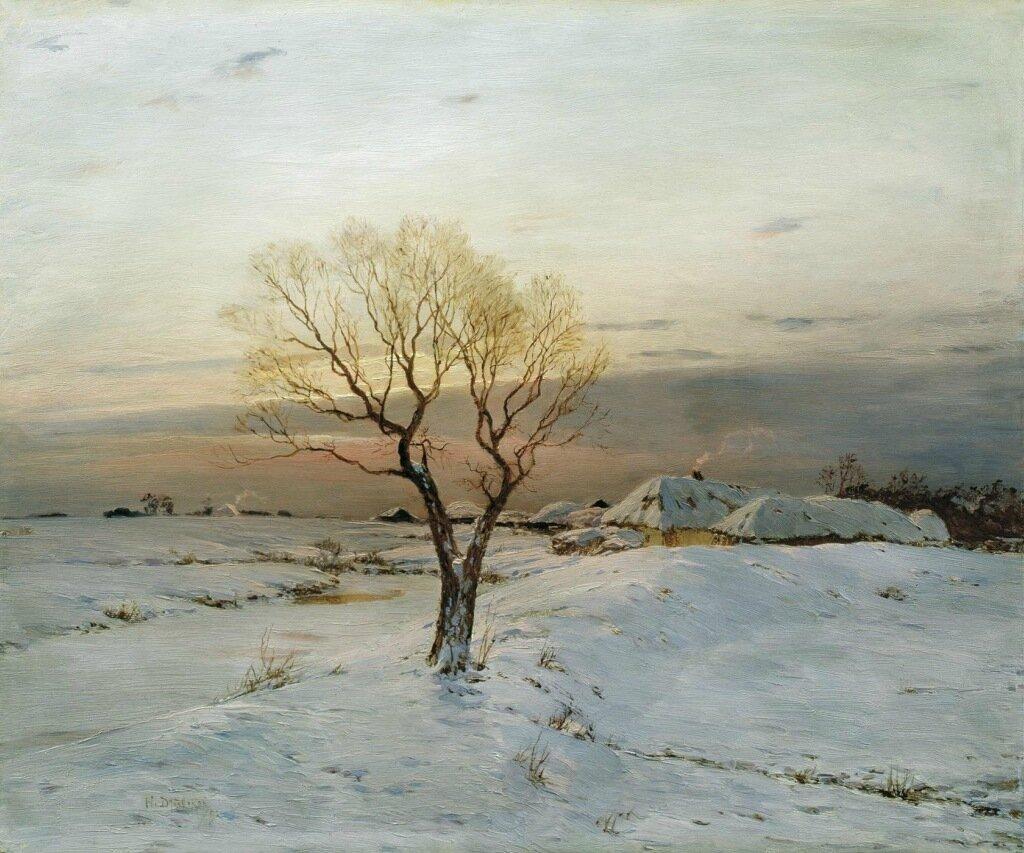 Морозное утро. 1894. Холст, масло.jpg