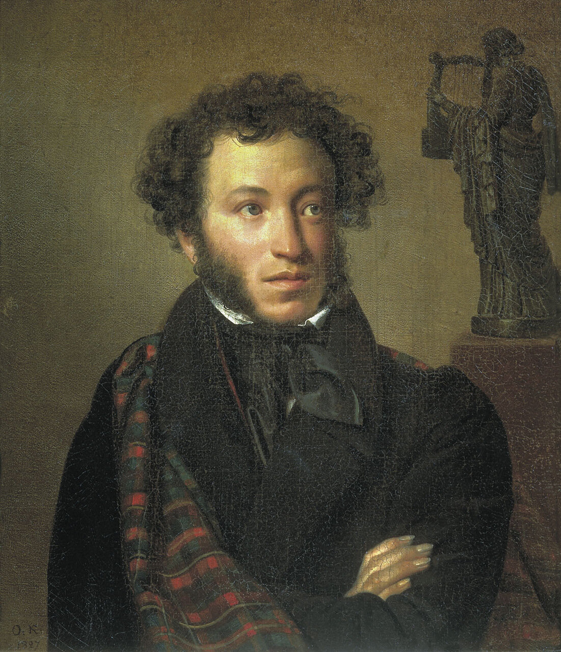 Портрет поэта Александра Сергеевича Пушкина. 1827.jpg