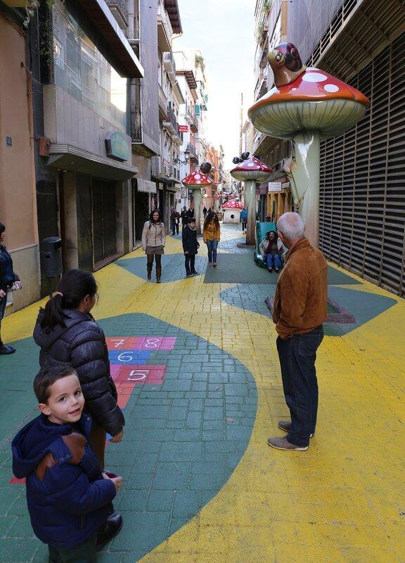 Аликанте. 'Детская улица' Сан-Франциско (Calle San Francisco)
