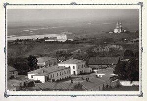 Вид на Тюремный замок и церковь Николая Можайского
