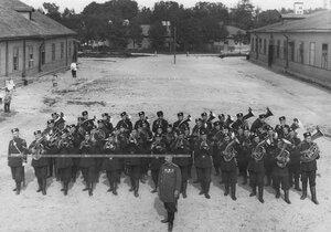 Оркестр 1-ого стрелкового  батальона  .
