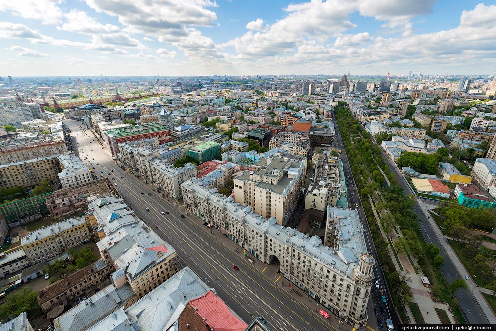 Фото панорама улиц москвы