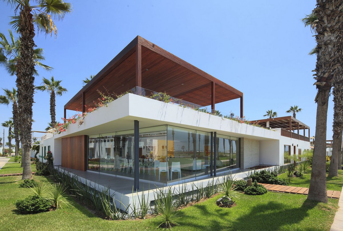 Martin Dulanto Architect, Casa P12, дом в провинции Каньете, дом в регионе Лима, особняки в Перу, дом на берегу океана, дом с видом на Тихий океан