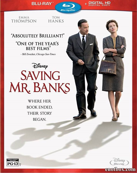 Спасти мистера Бэнкса / Saving Mr. Banks (2013/BD-Remux/BDRip/HDRip)