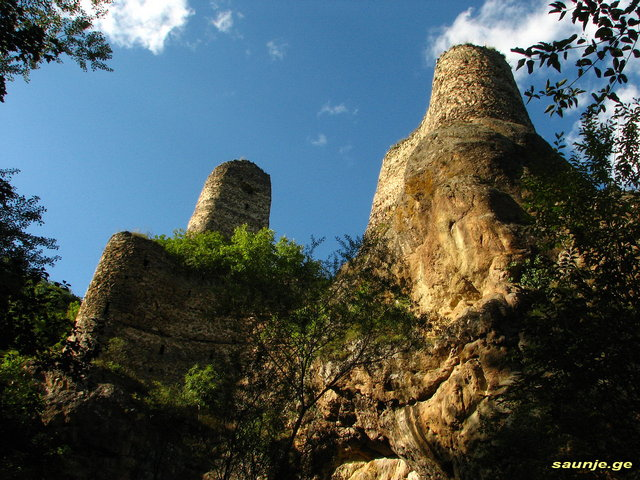 Крепости Грузии
