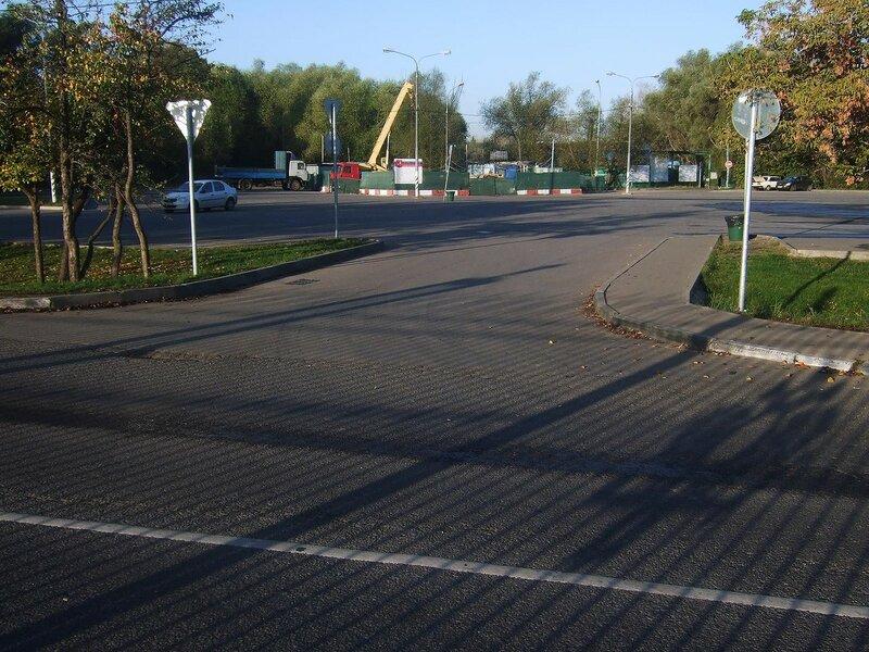 Бесплатная парковка у парка царицыно