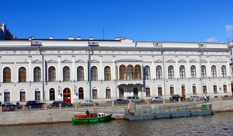 Шуваловский дворец. Музей Фаберже