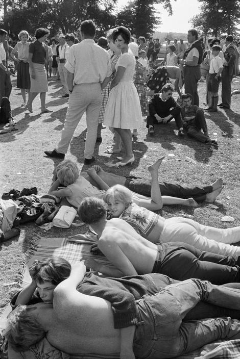 ENGLAND. London. Richmond Jazz Festival. 1961.